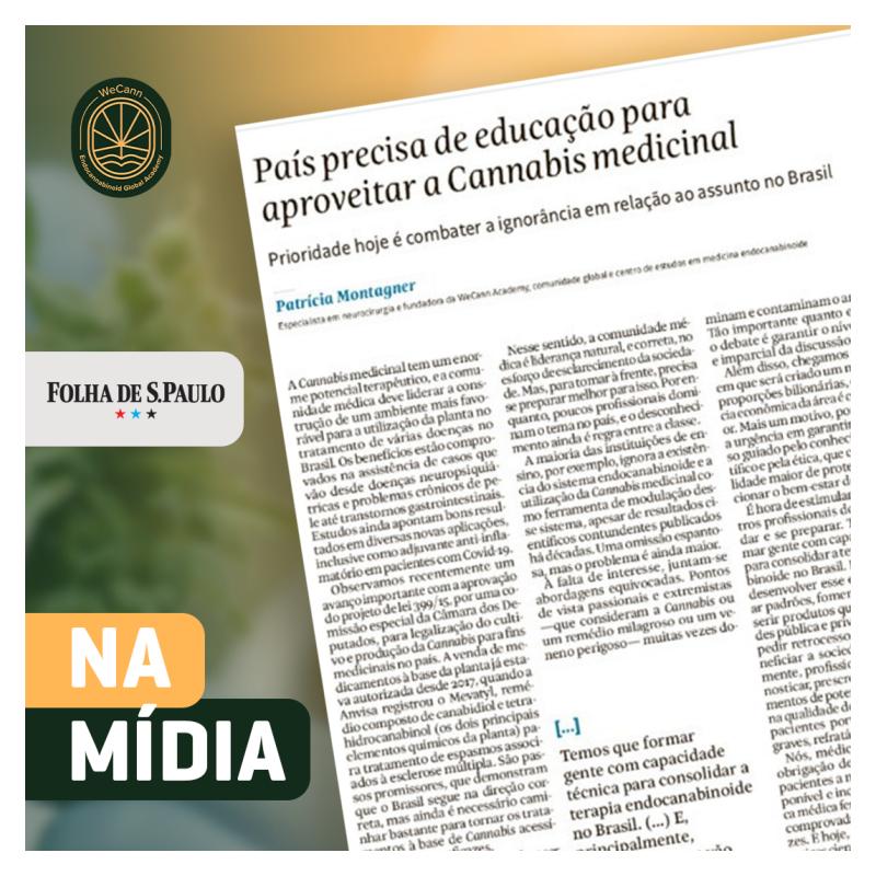 WeCann e Folha de São Paulo